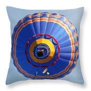 Balloon Square 4 Throw Pillow