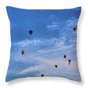 Balloons Galore Throw Pillow