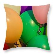 Balloons Horizontal Throw Pillow