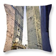 Balongna Tower Throw Pillow