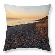 Baltic Sea Coast Throw Pillow