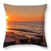 Baltic Sun Throw Pillow