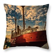 Baltimore Bay  Throw Pillow