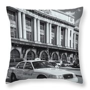 Baltimore Pennsylvania Station II Throw Pillow