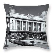 Baltimore Pennsylvania Station Iv Throw Pillow