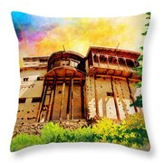Baltit Fort Throw Pillow
