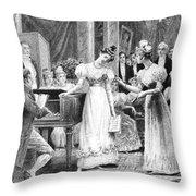 Balzac: A Woman Of Thirty Throw Pillow by Granger