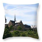 Bamberg Michelsberg - Germany Throw Pillow