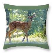 Bambi 2 Throw Pillow