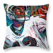 Bambino D'oro Dan Marino Throw Pillow