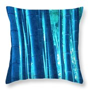Bamboo 14 Throw Pillow