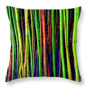 Bamboo Dream Throw Pillow