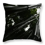 Bamboo Skies 5 Throw Pillow