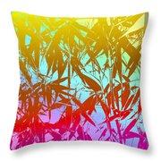 Bamboo Study 7 Throw Pillow