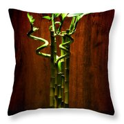 Bambooesque  Throw Pillow