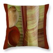 Banana Composition II Throw Pillow