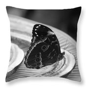 Banana Fly Throw Pillow