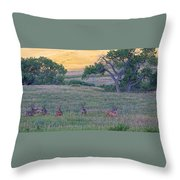 Band Of Brothers Throw Pillow