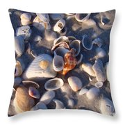 Banded Tulip Throw Pillow