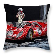 Bandini And The P4 Throw Pillow