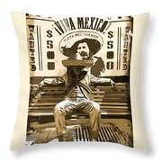 Bandito Throw Pillow