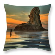 Bandon Photographer Throw Pillow