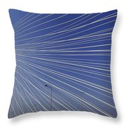 Bandra Worli Sea Link-3 Throw Pillow