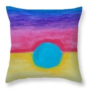 Bands Of Color Throw Pillow