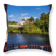 Bandstand View Throw Pillow