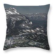 Banff Alberta Canada Throw Pillow