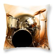 Bang On The Drum All Day Throw Pillow