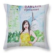 Bangkok 2009 Throw Pillow