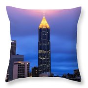 Bank Of America Plaza Throw Pillow