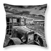 Bannack International Black And White Throw Pillow