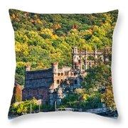 Bannerman's Castle Throw Pillow