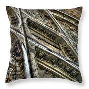 Bannon Diamond 05 Hdr Throw Pillow