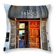 Banque Throw Pillow
