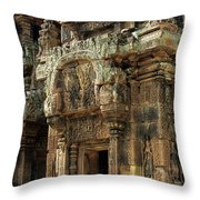 Banteay Srei Temple 01 Throw Pillow