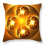 Baoding Balls Throw Pillow