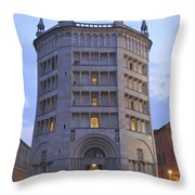 Baptistery Of Parma Throw Pillow