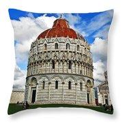 Baptistery Of St. John  Throw Pillow
