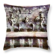 Bar - For A Real Jerk Throw Pillow by Mike Savad