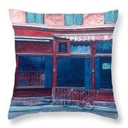 Bar Soho Throw Pillow by Anthony Butera