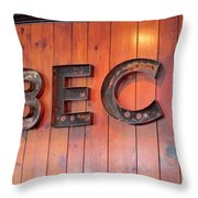 Barbecue Throw Pillow by Randall Weidner