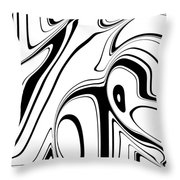 Barcode 3d  C2014 Throw Pillow by Paul Ashby
