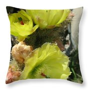 Barded Beauty Throw Pillow