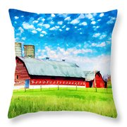 Bardstown Kentucky Throw Pillow by Darren Fisher