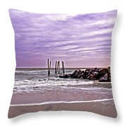 Barely There Throw Pillow by Tom Gari Gallery-Three-Photography