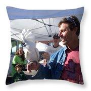 Baretta's Bird Throw Pillow