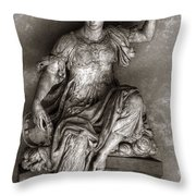 Bargello Sculpture Throw Pillow